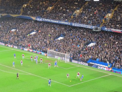 chelsea stamford bridge view from hospitality seats