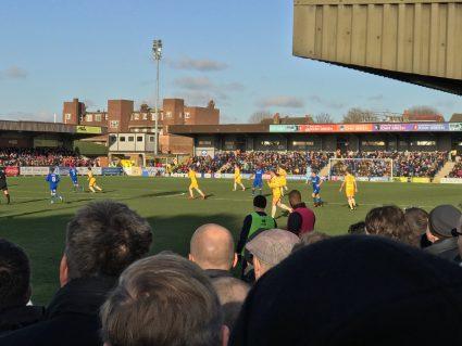 Football at Kingsmeadow