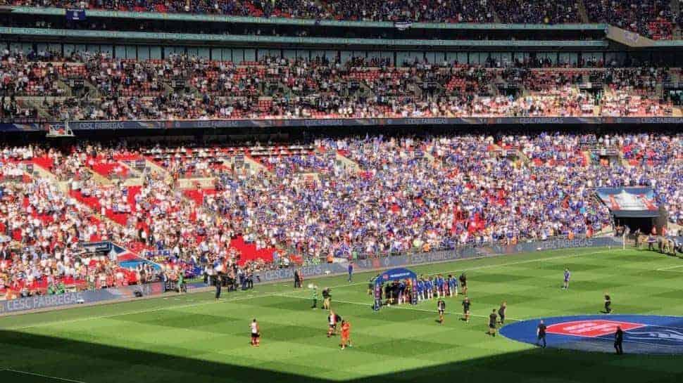 FA Cup Wembley Stadium London
