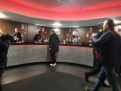 Southampton hospitality lounge bar