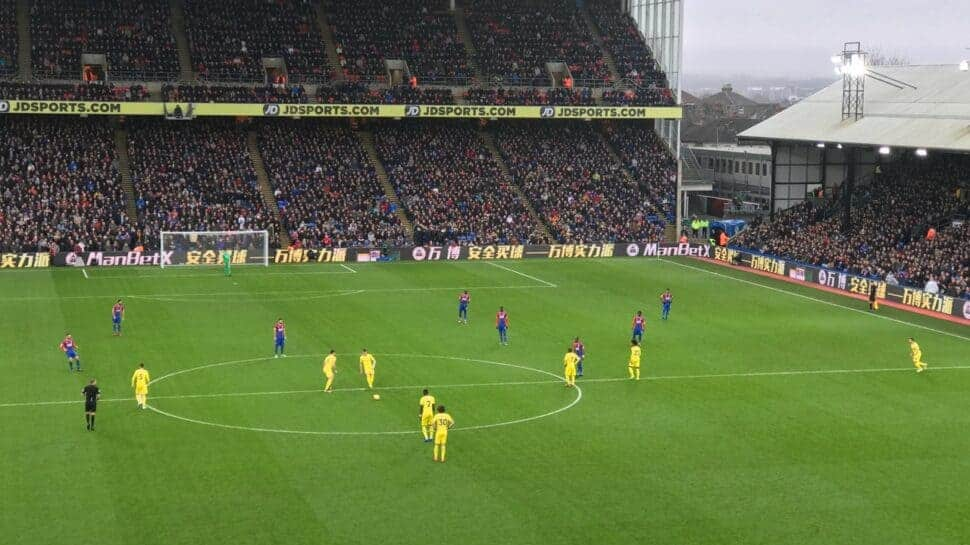 premier league soccer game crystal palace tickets hospitality seat view