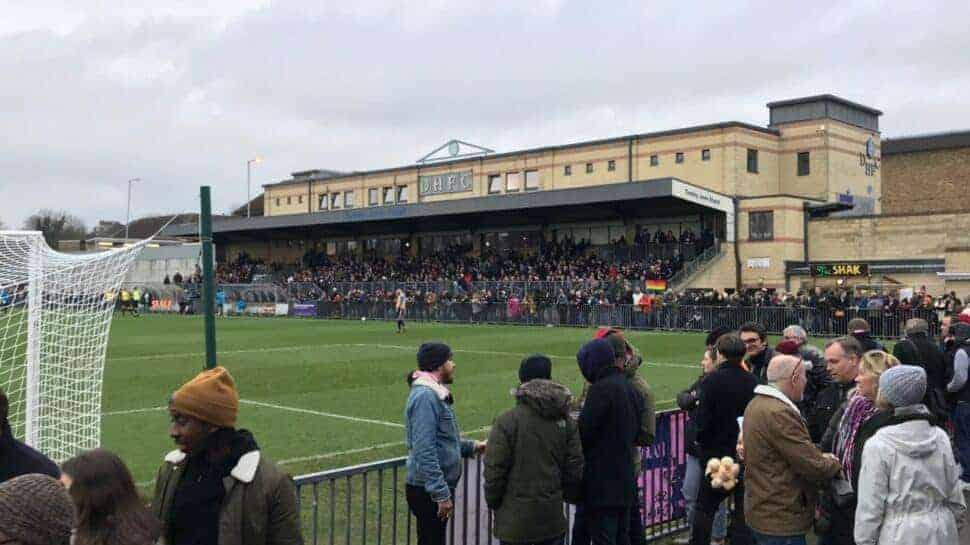 dulwich hamlet non-league football stadium spectators