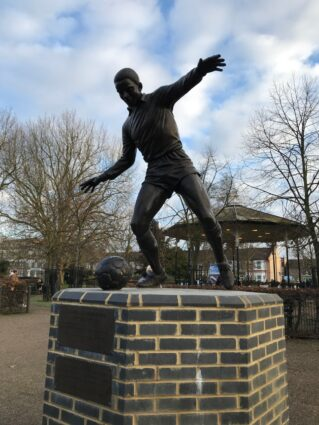 Laurie Cunningham statue at Leyton Orient FC