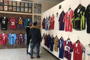 This Shop in Manchester is Football Shirt Heaven