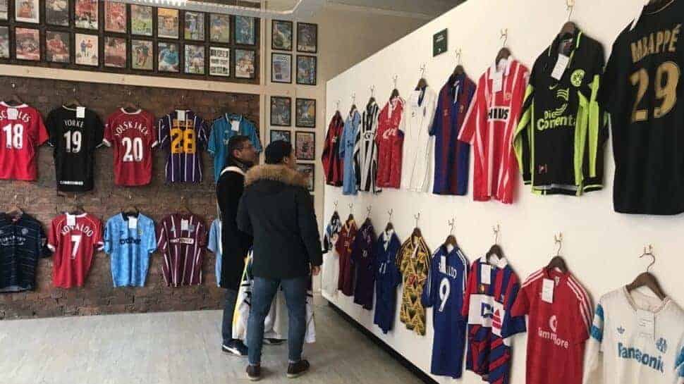 This Shop in Manchester is Football Shirt Heaven ab7d281f9cb5