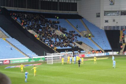 coventry city ricoh arena away fans