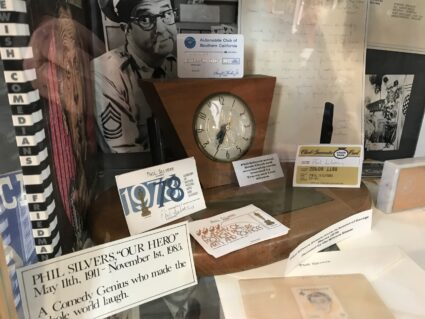 Phil Silvers memorabilia