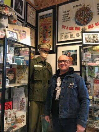 coventry fargo village phil silvers museum owner