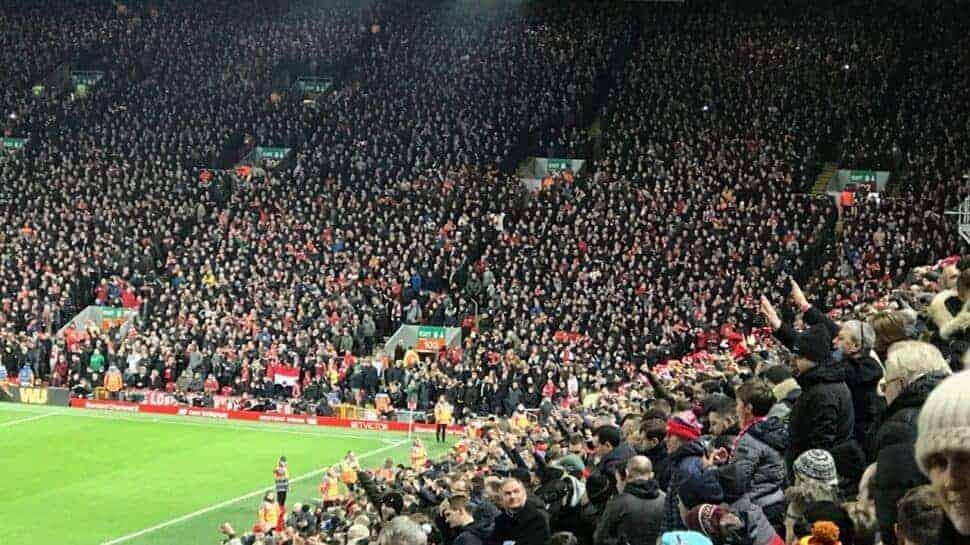 liverpool fans singing allez allez allez
