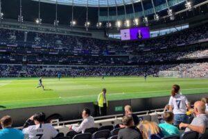 Lower-Tier Midfield Hospitality at Tottenham Hotspur