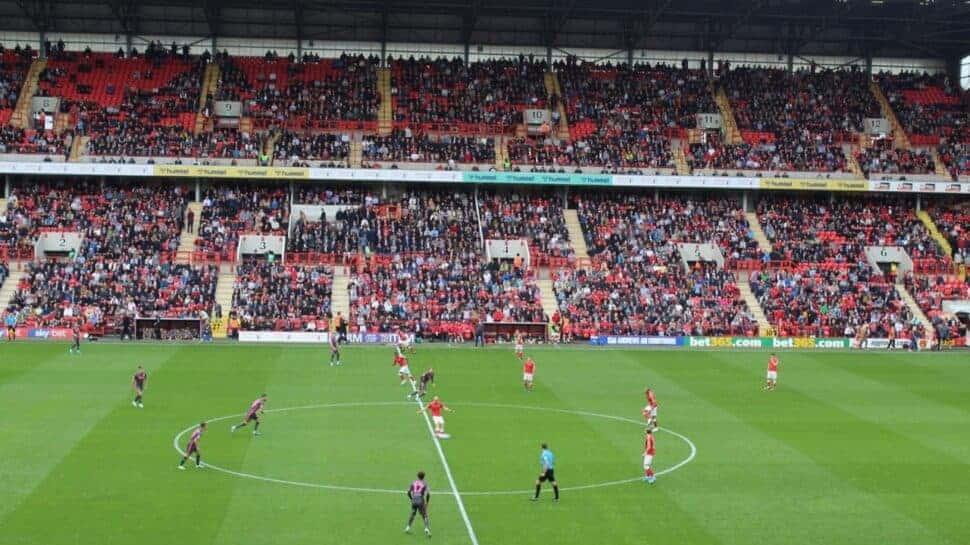 Kickoff at Charlton Athletic efl cup