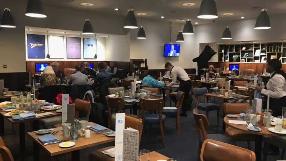Citizens Lounge hospitality at Manchester City