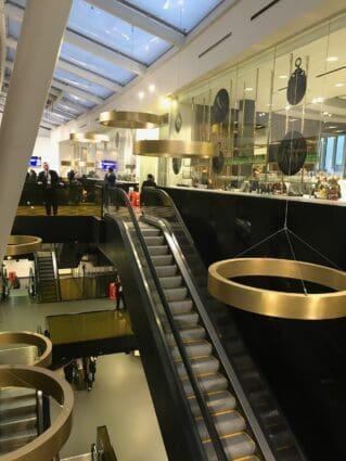 escalator at london stadium