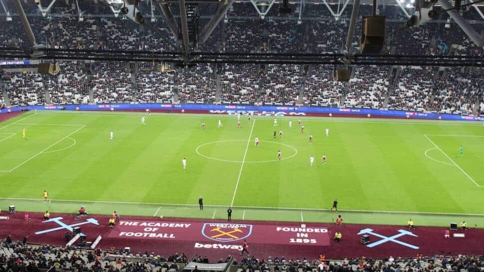 view of soccer field west ham united premier league tickets