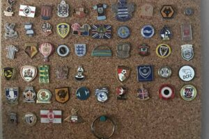 My English Soccer Pin Badge Collection