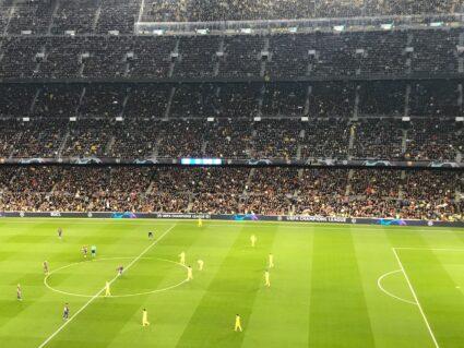 Kickoff at Camp Nou