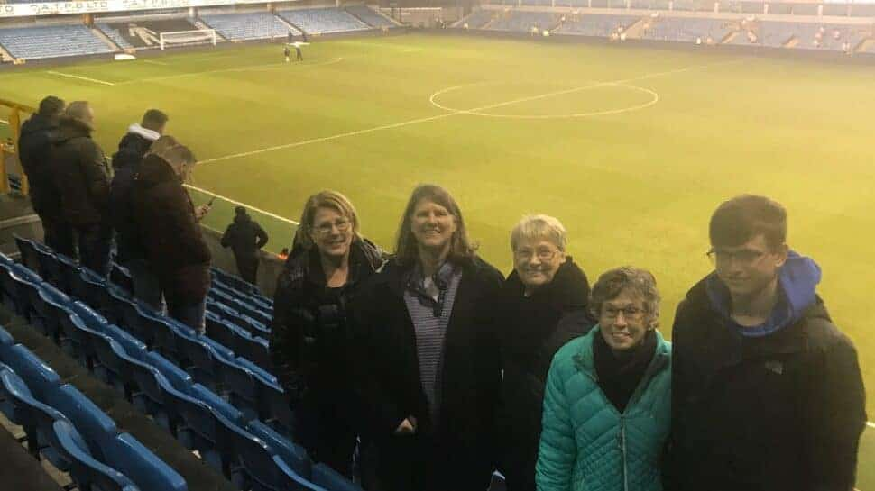 groundhop english soccer tour group at Millwall