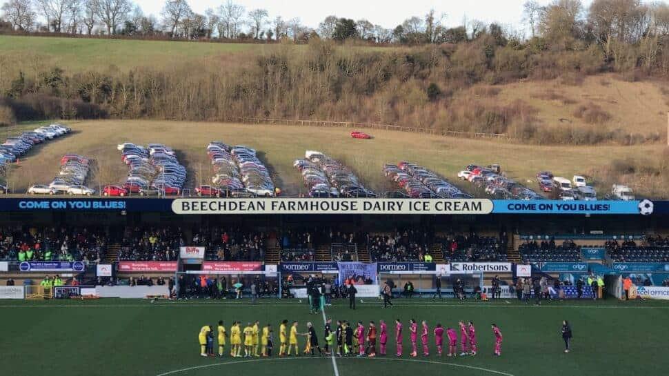 wycombe wanderers english football stadium