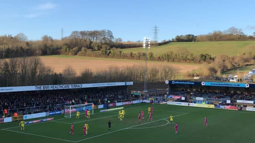 fa cup 4th round wycombe vs tottenham