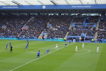 Kickoff at Leicester City Football Club
