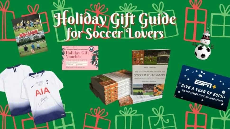 holiday gift guide soccer gifts