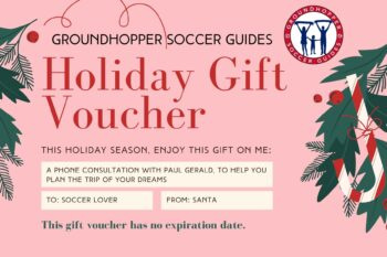 holiday soccer gift certificate