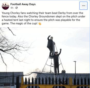 fa cup third round chorley fans