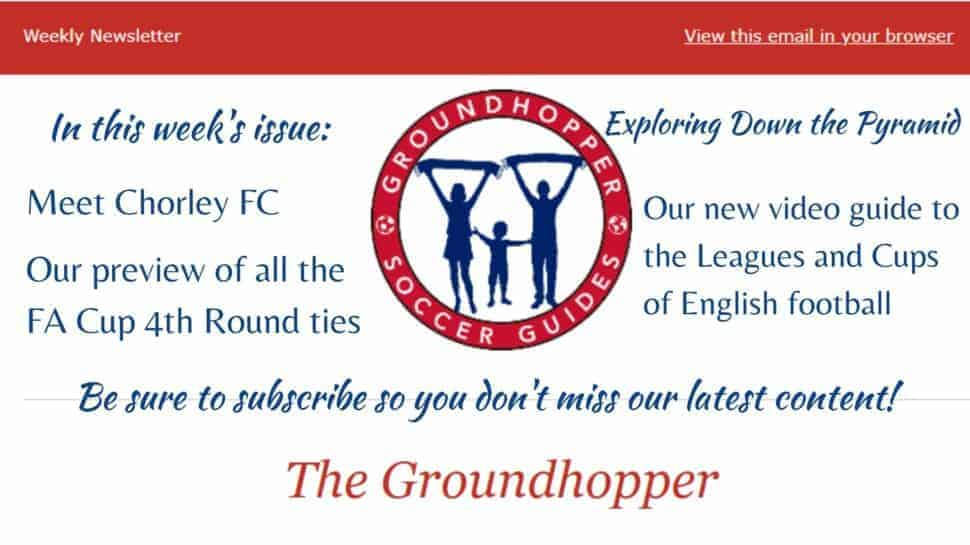 Groundhopper 83 newsletter