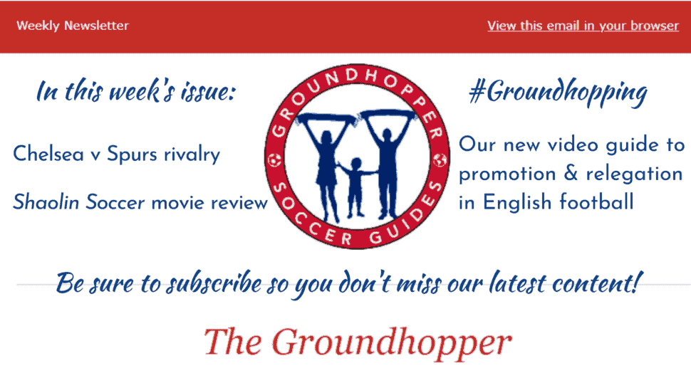Groundhopper newsletter 84