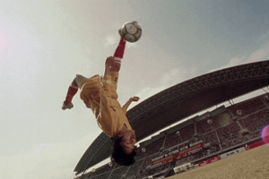 The <I>Shaolin (Kung Fu) Soccer</I> Movie is Good, Flying Fun