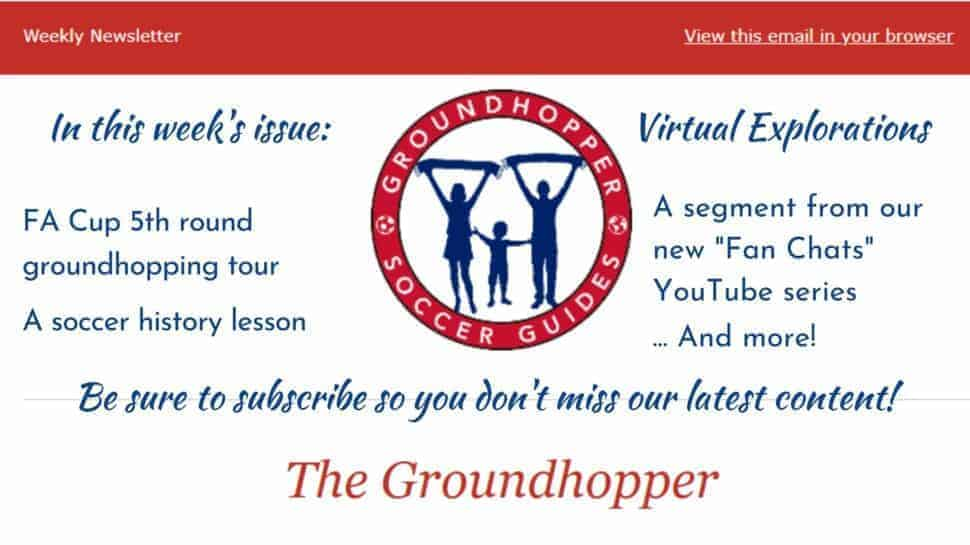 Groundhopper newsletter 85