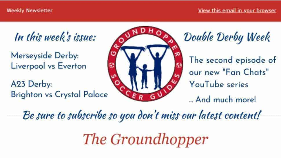 Groundhopper Soccer Guides newsletter 87