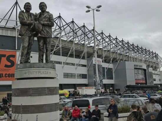 brian clough statue derby county damned united