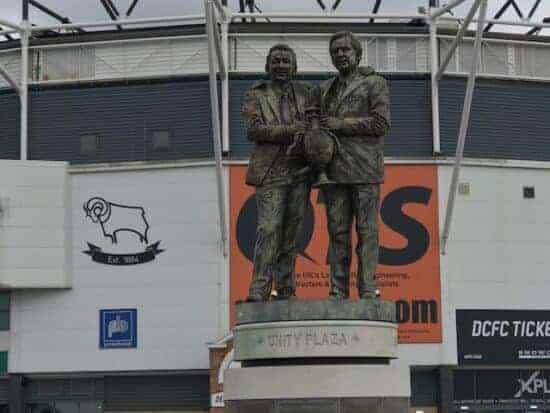 derby county clough taylor statue
