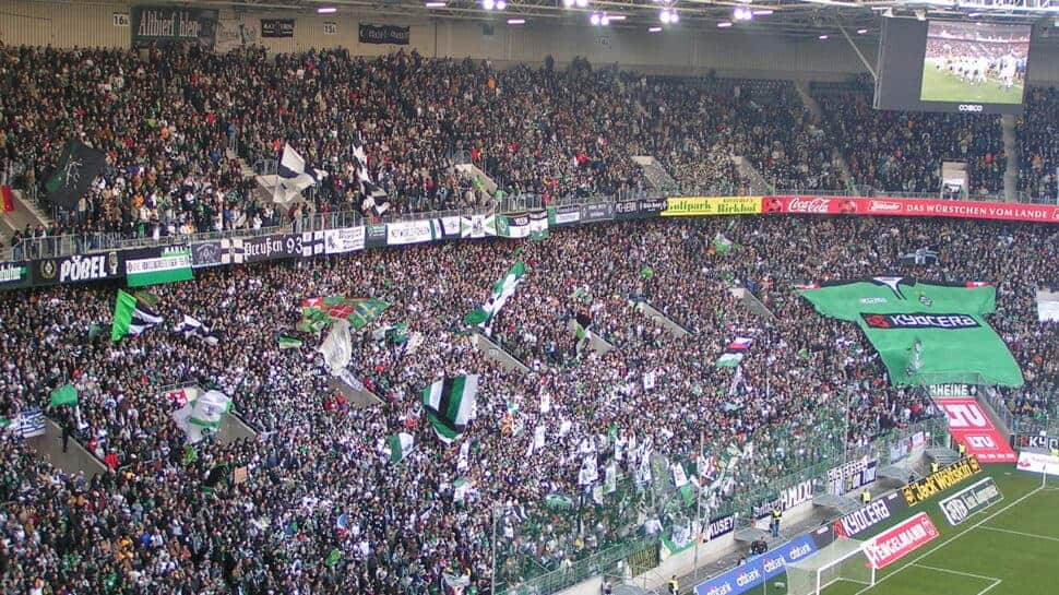 borussia monchengladbach fans in germany