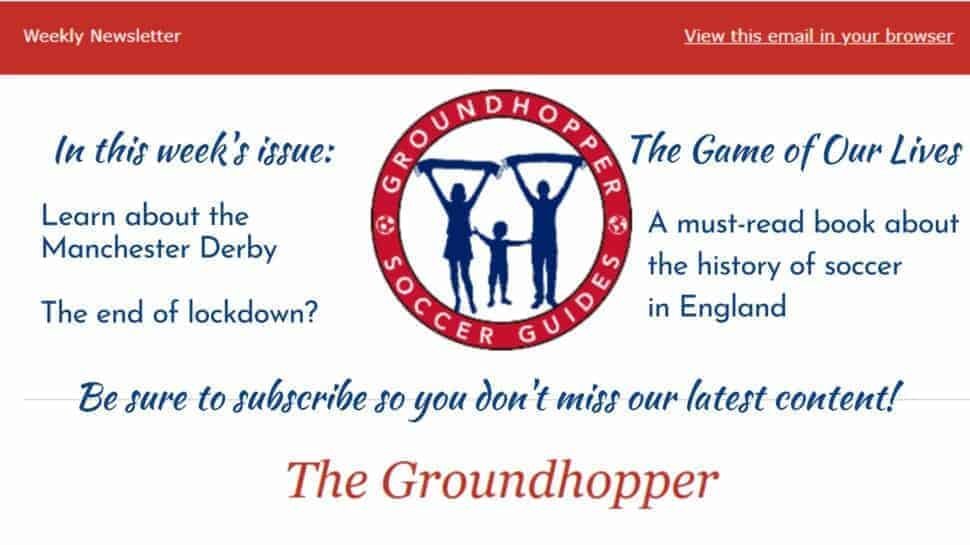 Groundhopper Newsletter 89 content