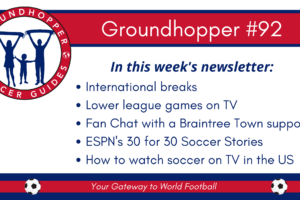<I>Groundhopper</I> #92: When Not To Go Groundhopping?