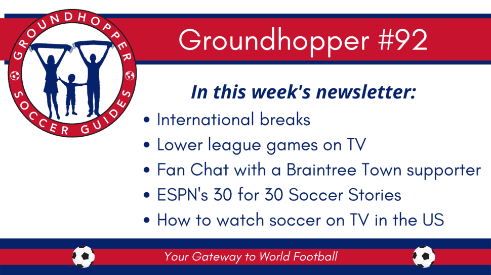 groundhopper newsletter 92