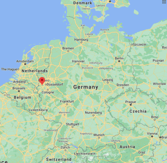 monchengladbach germany europe map