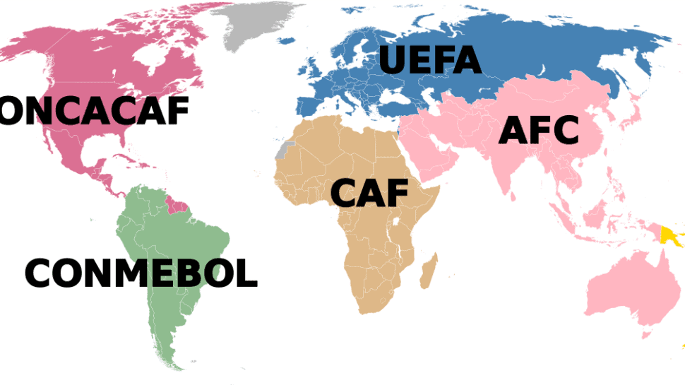 fifa world map international breaks