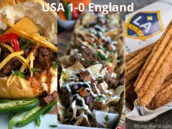 MLS concessions hamburger nachos churros