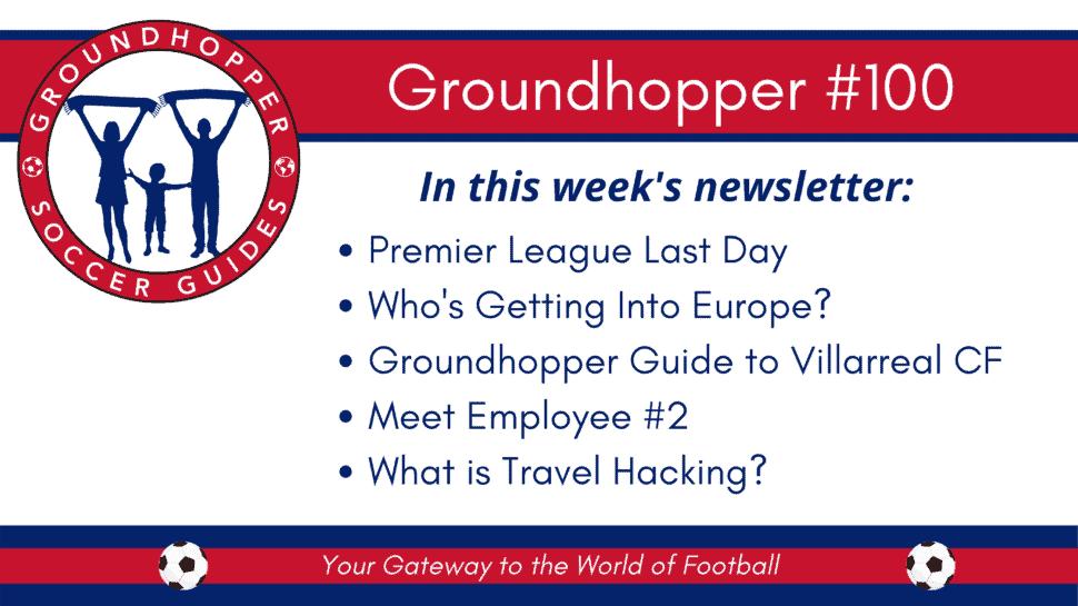 groundhopper newsletter 100