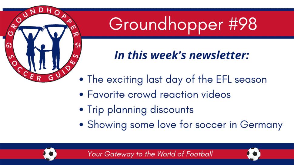 groundhopper newsletter 98