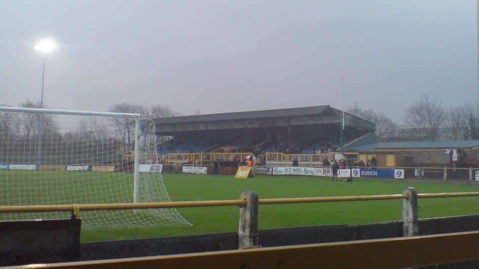 gander green lane stadium sutton united league two