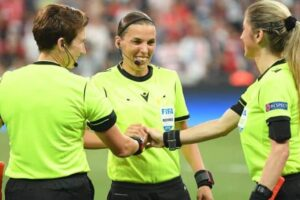 Making History: Female Soccer Referees