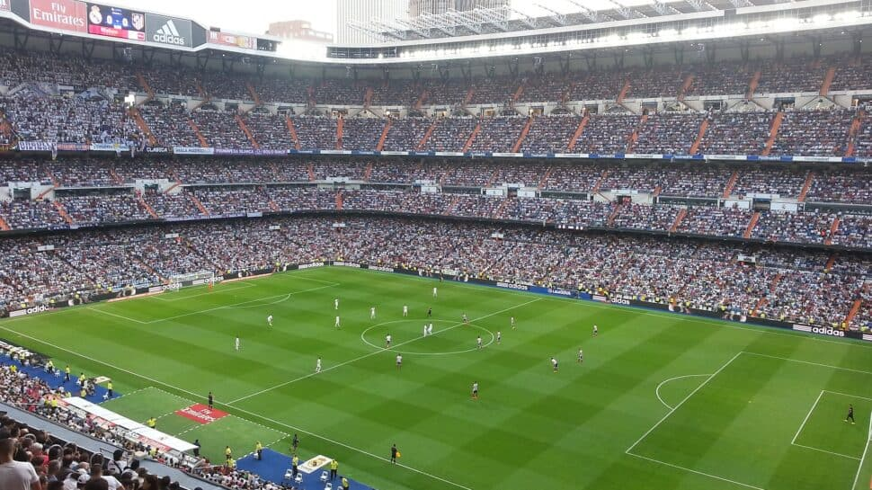 inside Real Madrid's Santiago Bernabeu Stadium