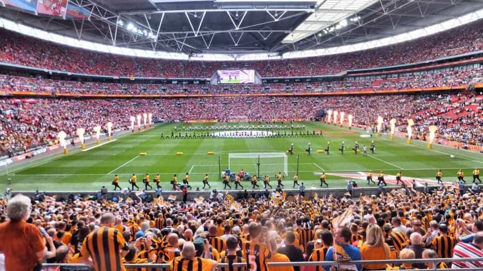 FA Cup Final inside Wembley