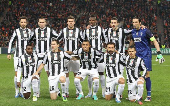 Juventus 2013 uniforms