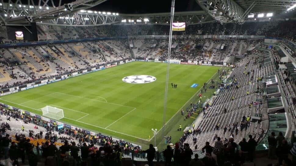 Juventus Stadium from side corner stands