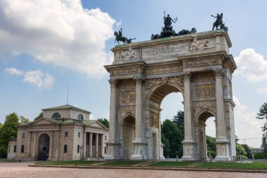 Milan, Italy Arch of Peace